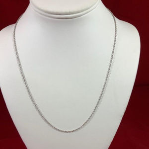 """James Avery Sterling silver 20"""" Light Rope Chain"""